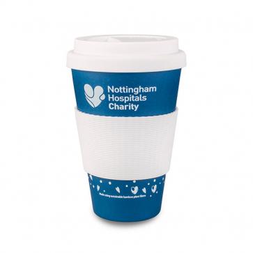 Blue Eco Plant Fiber Cup 430ml