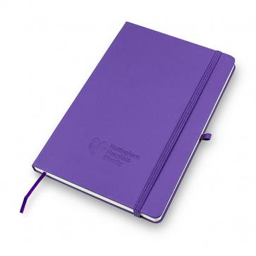 A5 Purple Notebook
