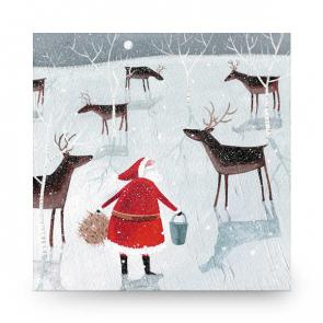 Christmas Card Feeding the Troups