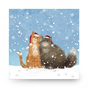 Christmas Card Christmas Kitties