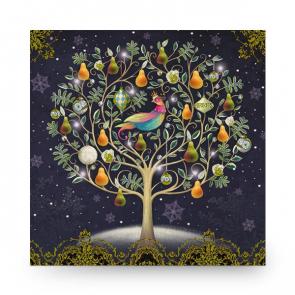 Christmas Card Pretty Partridge