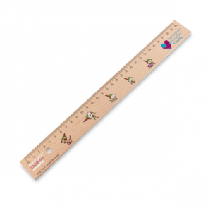 30cm Sustainable Wooden Ruler